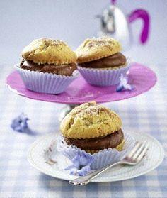 Das Rezept für Cappuccino-Muffins mit Schokosahnefüllung und weitere kostenlose Rezepte auf LECKER.de
