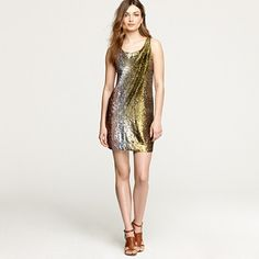 sequin smolder dress by J.Crew