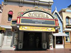 Enjoy a few moments away from the crowds and some early animation in this stop along Main Street.