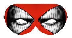 Deadpool Hero Sleep Eye Mask Masks Sleeping Night Blindfold Travel Eye Eyes cover covers patch sleeping eyes Slumber Eyewear wear Accessory by venderstore on Etsy