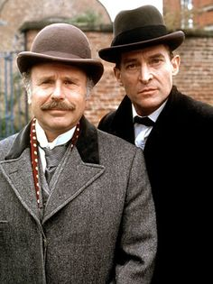 """Jeremy Brett played Holmes in """"The Return of Sherlock Holmes"""" on BBC from 1986-1988, """"The Casebook of Sherlock Holmes"""" in 1991, a variety of movies in 1992 and 1993, and """"The Memoirs of Sherlock Holmes"""" in 1994 with Edward Hardwicke as Watson."""