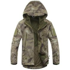 Tactical Jacket Soft Shell Army Coat V 5.0 Waterproof - Windproof