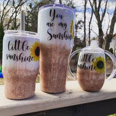 Excited to share this item from my shop: Mommy and me glitter ombré sunflower tumbler set Girls Tumbler, Mom Tumbler, Glitter Wine, Glitter Cups, Diy Tumblers, Custom Tumblers, Tumblr Cup, Yeti Cup, Custom Cups