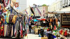 Can't imagine a better day than antique hunting at the Portobello Road Market!