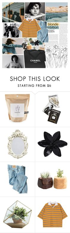 """your eyes are like the open sea, the simple poetry"" by junglex ❤ liked on Polyvore featuring Nameless, GET LOST, Chanel, Potting Shed Creations, Assouline Publishing, NARS Cosmetics, Polaroid, ASOS, Dickies and Danya B"