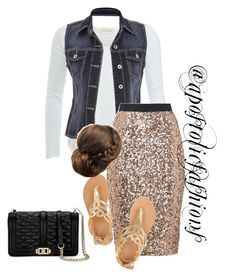 """Apostolic Fashions #1217"" by apostolicfashions on Polyvore featuring American Vintage, maurices, French Connection, Ancient Greek Sandals and Rebecca Minkoff"
