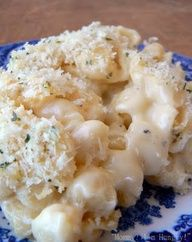 White cheddar and parmesan mac  cheese