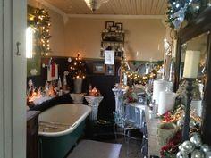 Enchanting Christmas Bathroom Decoration Ideas Lights And
