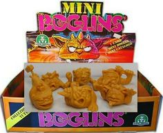 Mini Boglins - Tan - 6 Different Types of Mini Figures - Monster in my Pocket My Pocket, Cereal, Mint, Ebay, Food, Meals, Yemek, Corn Flakes, Eten