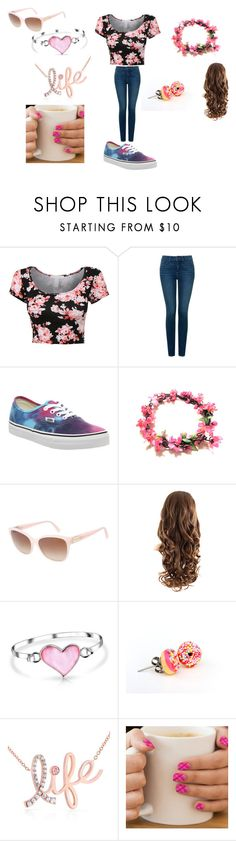 Olivia's outfit by adara-omgg-laceup on Polyvore featuring beauty, Dolce&Gabbana, Kobelli, Bling Jewelry, NYDJ and Vans