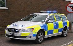 Bedfordshire/Cambridgeshire/Hertfordshire Police Roads Policing Unit Volvo V70 Traffic Car