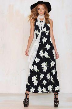 Vintage My So Called Floral Dress