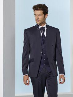 Pánsky svadobný oblek modrý svadobný salón valery Salons, Suit Jacket, Breast, Suits, Jackets, Fashion, Down Jackets, Moda, Lounges