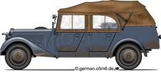 Engines of the Wehrmacht - Mercedes 170 VK Kübelsitzwagen / W 136 K