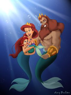 Melody Little Mermaid Tumblr | This is so cute! by amypaulson