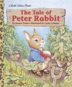 The Tale Of Peter Rabbit ( Little Golden Book ) Hardcover- January 31,2001