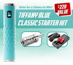Win a Tiffany blue Classic Starter Kit
