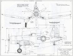 Chance Vought Corsair US Navy 4 Views Drawings – AeroDrawings Us Navy Aircraft, Ww2 Aircraft, Fighter Aircraft, Military Aircraft, Fighter Jets, Military Weapons, Airplane Drawing, F4u Corsair, Focke Wulf
