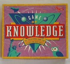 Family Board Games, Family Boards, Fun Games, Knowledge, University, Education, Awesome, Check, Consciousness