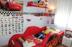cuartos de niños tema cars - Buscar con Google