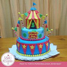 Circus Cake  Lola Corazón Tortas
