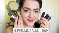 Lip Product Addict Tag