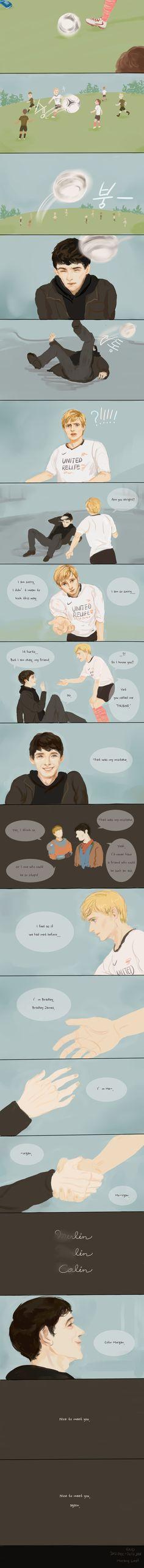 Merlin, Colin, and Bradley