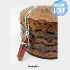 Red Jasper Healing Pendant  Follow us on Social Media to be the first to see new products & sales.  SHOP URL IN BIO  Shop: . Check out our products now: ... #etsygifts #etsyshop #etsyseller #instajewelry #love #picoftheday #photooftheday #instafollow #instagood #instashop #onlineshopping #gemstoneshop #instacool #loveit #musthave#healingatlas #reikicharged #crystalbracelets #gemstoneBracelets #crystalreiki #Miami #gemstonechakrabracelets #chakrabracelets #crystalchakrabracelets #chakra…