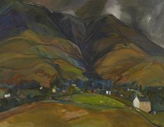 Sheila Fell: Royal Academician makes a long anticipated return to Abbot Hall Lake Painting, Painting & Drawing, Landscape Paintings, Landscapes, Modern Paintings, English Artists, Autumn Inspiration, Drawings, British
