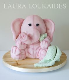 """Truffles the Toy Elephant"" by Laura Loukaides"