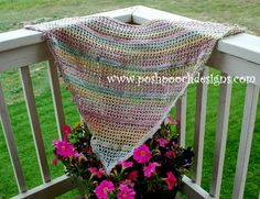 Posh Pooch Designs Dog Clothes: Everyday Shawl Crochet Pattern For Worsted Weight Yarn