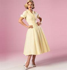 Patron de robe - Butterick 6018 - Rascol