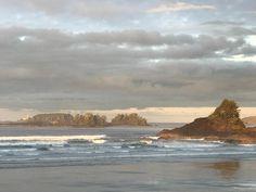 Breathtakingly beautiful West Coast. #Tofino #westcoast #vancouverisland #coxbay #nofilter #sunrise #lookslikeapainting #bc #viewfrommyroom #beautifulhotels #roomwithaview #exploreBC #exploreCanada @longbeachlodgeresort  @tourismtofino