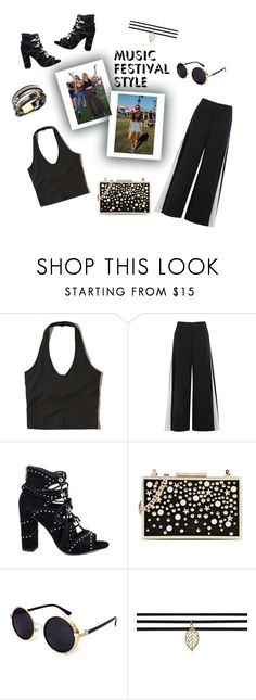 """""""Best Festival Trend"""" by bibi-bes ❤ liked on Polyvore featuring Hollister Co., Peter Pilotto, Ash and Karl Lagerfeld"""