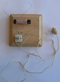 Chapter 4: Radio -- Build a crystal radio set in 10 minutes