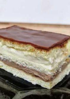 cakes and deserts Mennyei Lengyel lepny, igazi krmes csoda recept! Sweet Desserts, Sweet Recipes, Delicious Desserts, Yummy Food, Cookie Recipes, Dessert Recipes, Twisted Recipes, Hungarian Recipes, Chocolate Desserts