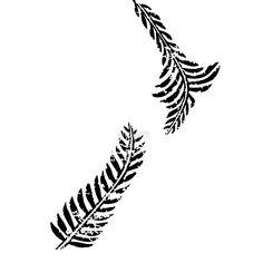 'New Zealand Map in fern shape' Clock by Yo Senang Maori Tattoos, Key Tattoos, Skull Tattoos, Body Art Tattoos, Sleeve Tattoos, Foot Tattoos, Ring Tattoos, New Zealand Tattoo, New Zealand Art