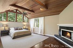 For some reason, the bedroom is one of the hardest rooms for me to decorate.  If you're the same way, check out our library of bedroom photos on Pinterest:  http://www.pinterest.com/obeo/magical-master-bedrooms/
