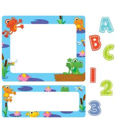 #CDWish13 FUNky Frogs Stickers | Classroom décor from Carson-Dellosa