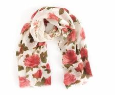 Cascading Roses Scarf
