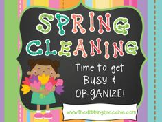 The Dabbling Speechie: Wise Wallet Wednesday-Spring Cleaning Round Up! Pinned by SOS Inc. Resources @so siu ki Inc. Resources.