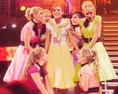 Laura Osnes in Grease. She is just so perfect I'm still in the unbelief stage that Laura is leaving Cinderella ):