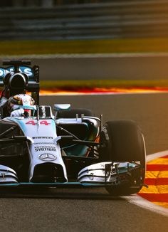 On Track w/Lewis Hamilton at the Formula One 2014 #F1 Belgian GP @ Spa-Francorchamps #TeamLH