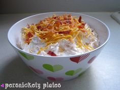 Yum This recipe came across my reader this morning and I had to run to Target to get the ingredients. I think it's a perfect last minute addition to our Super Bowl menu. I'm pretty excited about trying it – only 4 more hours! Source: Adapted from Brown Eyed Baker Ingredients16 oz sour cream16 slices bacon, cooked and crumbled (I...Read More »