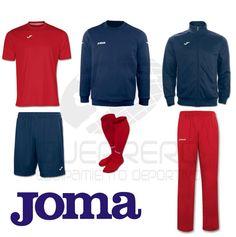 Pack #Fútbol Joma   36,81 €   Camiseta + Pantalón corto + Medias + Sudadera + Chaqueta + Pantalón largo #Joma