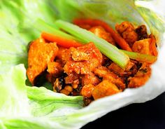 PALEO BUFFALO CHICKEN WRAP - Paleo Recipes Interesting...I used to use Texas Pete but Franks Red Hot Cayenne Pepper sauce is paleo and Texas Pete is not.