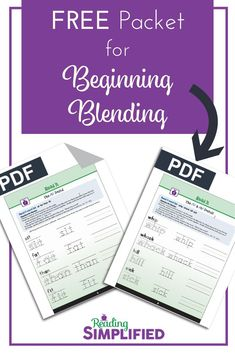 The #1 Strategy we use with every new reader: Blend As You Read. Solve any blending problem with readers of all ages. Grab FREE Read It packet! #decoding #blendingsounds Teaching Reading, Reading Games, Teaching Phonics, Reading Fluency, Kindergarten Reading, Learning, Reading Incentives, Blending Sounds, Classroom Rules