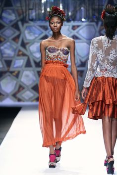 STEFANIA MORLAND @ Mercedes-Benz Fashion Week 2013. Photo: SDR PHOTO/SIMON DEINER.