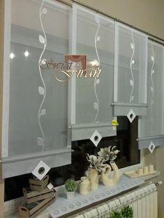 , # see-through kitchen curtain – Curtains 2020 Drapes And Blinds, Hanging Curtains, Drapes Curtains, Window Coverings, Window Treatments, Diy Home Crafts, Diy Home Decor, Decorative Panels, Curtain Designs