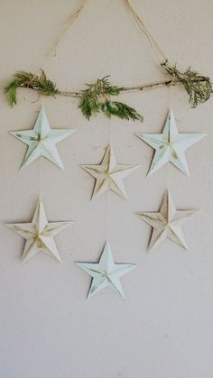 Diy Crafts For Home Decor, Christmas Crafts, Ramadan Crafts, Paper Stars, Diy Art, Diy For Kids, Paper Flowers, Christmas Diy, Paper Crafts